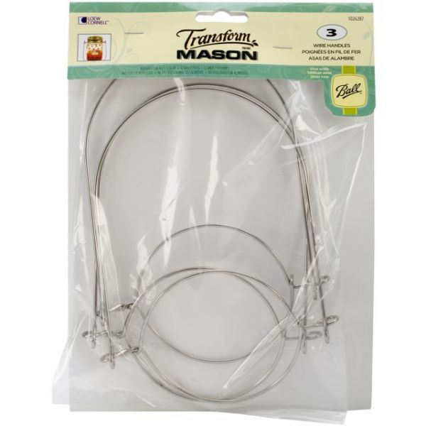 Mason Ball Jar Wire Handles (Handle-Ease) 3/Pkg