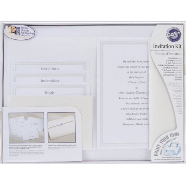 Invitation Kit 25/Pkg
