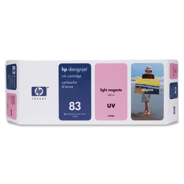 HP 83 UV Light Magenta Ink Cartridge (C4945A)