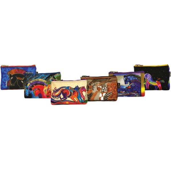 "Cosmetic Bag Zipper Top Assortment 9""X1""X6"""