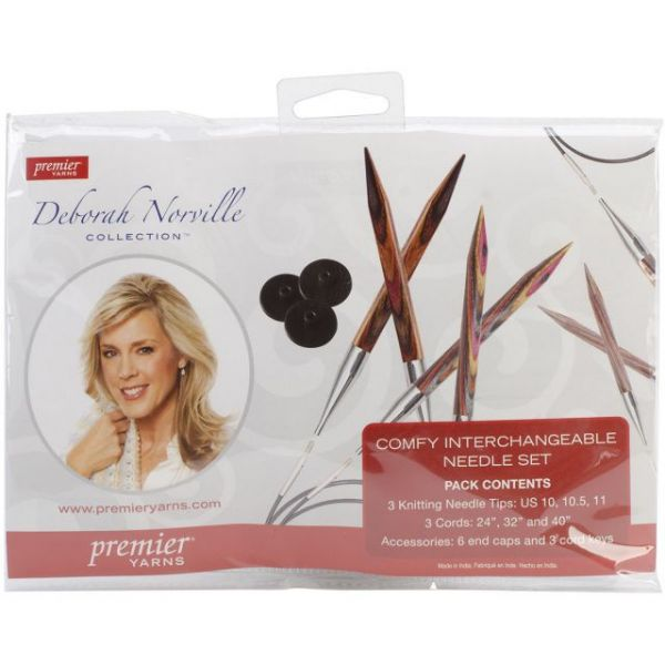 Deborah Norville Interchangeable Knitting Set