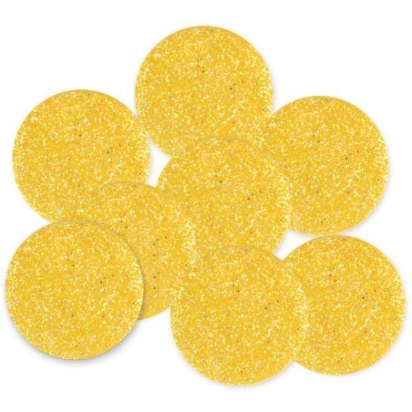 Dress It Up Big Glitter Dots 19mm 8/Pkg