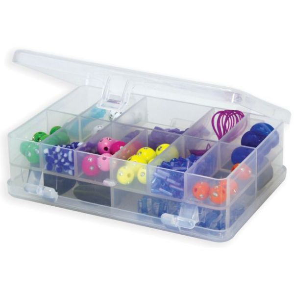 Creative Options Micro Double Utility Box 14 Compartments