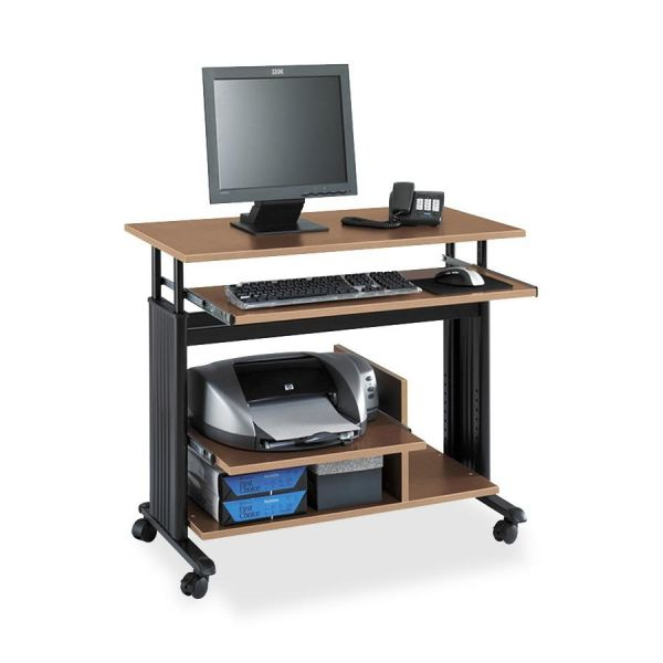 Safco Adjustable Mini-Tower Workstation