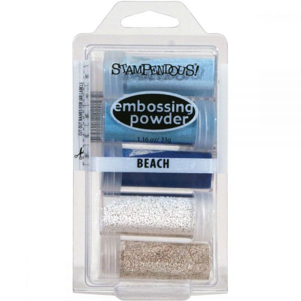 Stampendous Embossing Powder 5/Pkg .86oz