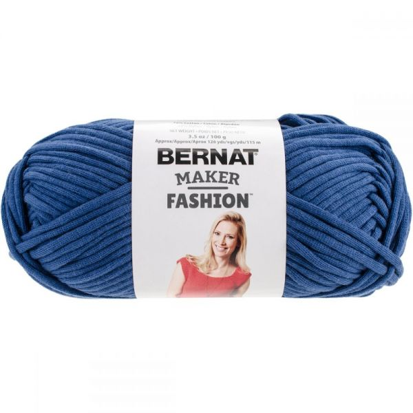 Bernat Maker Fashion Yarn - Blue