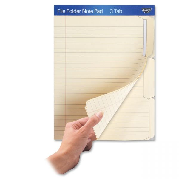 Find It File Folder Note Pad