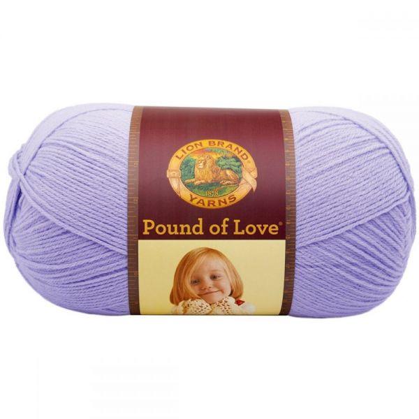 Lion Brand Pound Of Love Yarn - Lavender