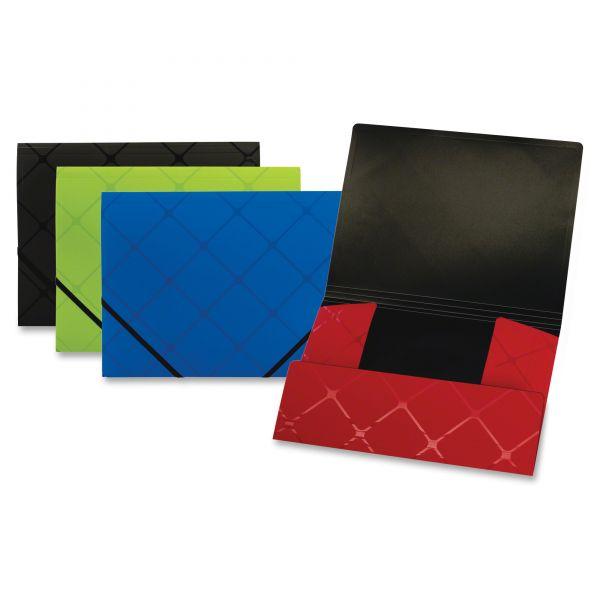 Pendaflex Tri-Fold Folder, Letter, Poly, Assorted