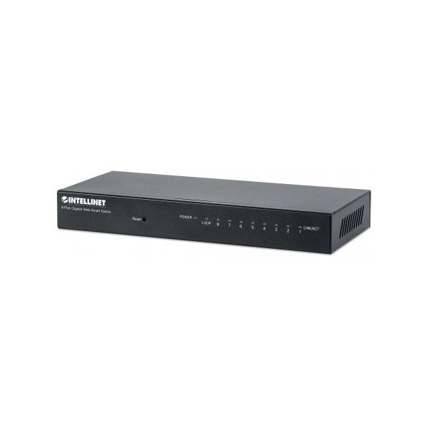 Intellinet 8-Port Gigabit Web-Smart Switch