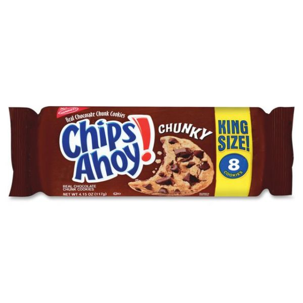 Chips Ahoy! Chunky Cookies King Size