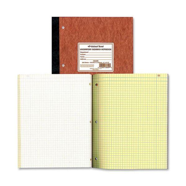 Rediform Laboratory Research Notebook