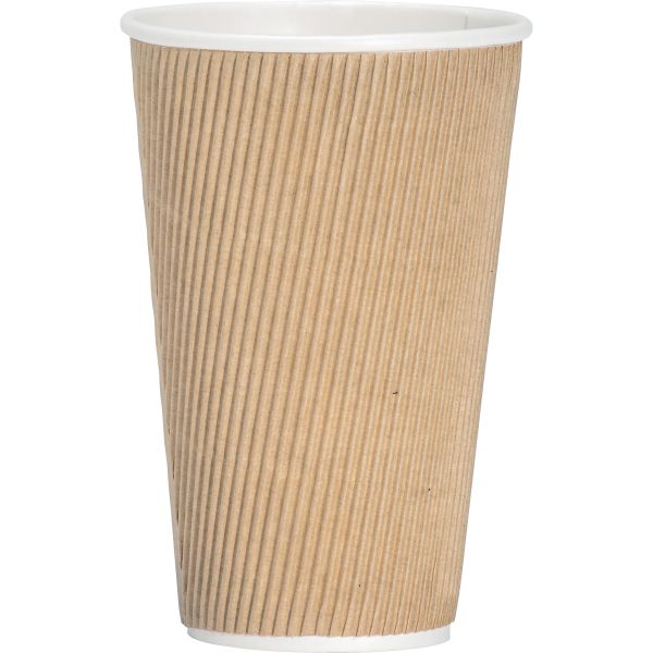 Genuine Joe Ripple 16 oz Coffee Cups