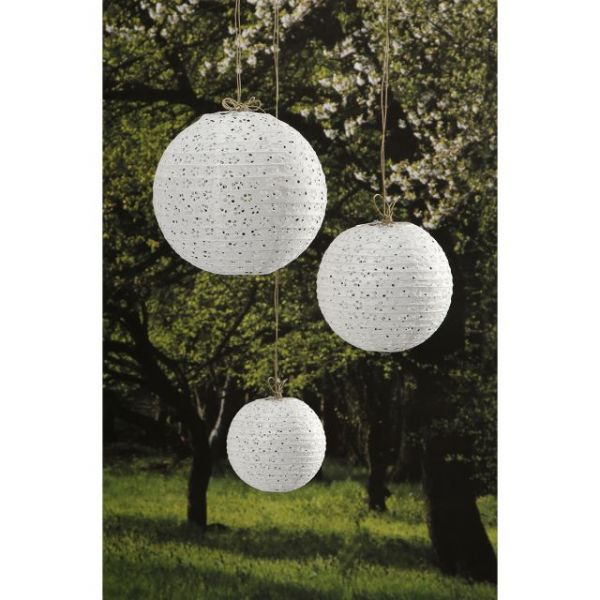 Lace Look Paper Lanterns 3/Pkg