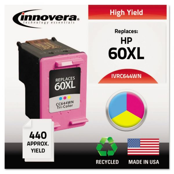 Innovera Remanufactured HP 60XL High-Yield Ink Cartridge