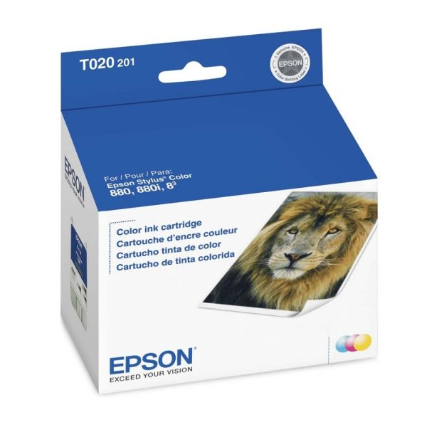 Epson T020 Tri-Color Ink Cartridge