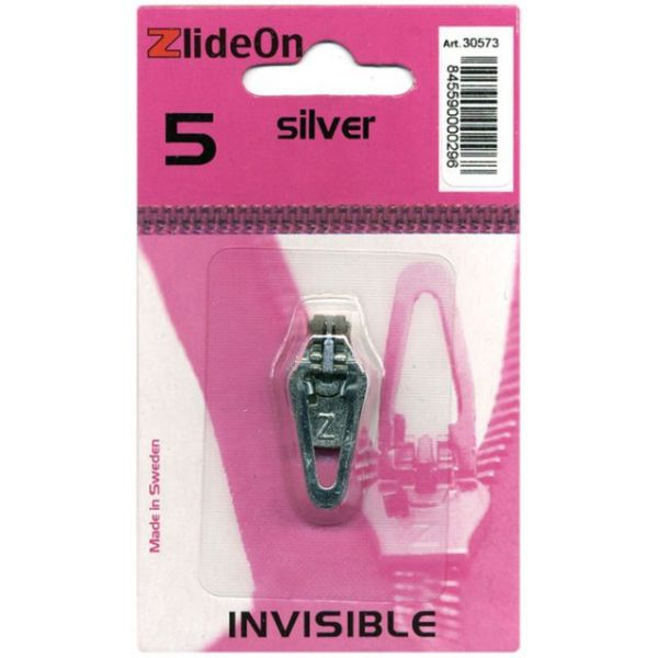 ZlideOn Zipper Pull Replacements Invisible 5