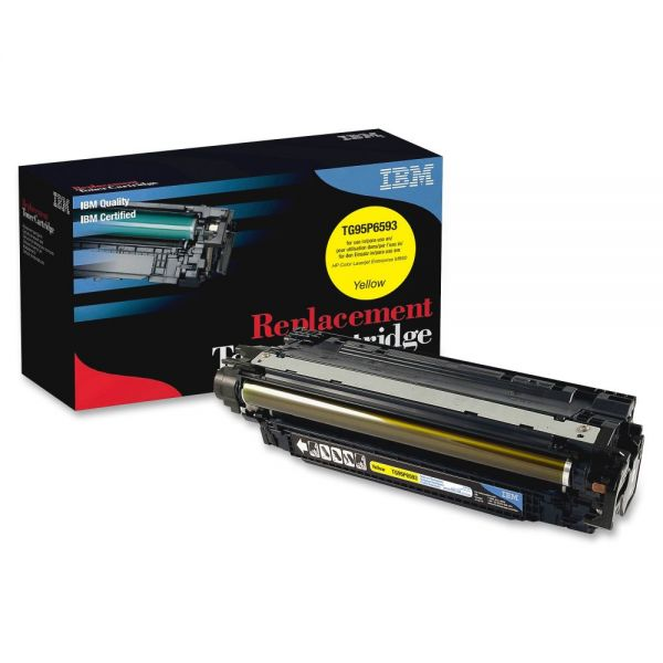 IBM Remanufactured Toner Cartridge - Alternative for HP 653A (CF322A) - Yellow