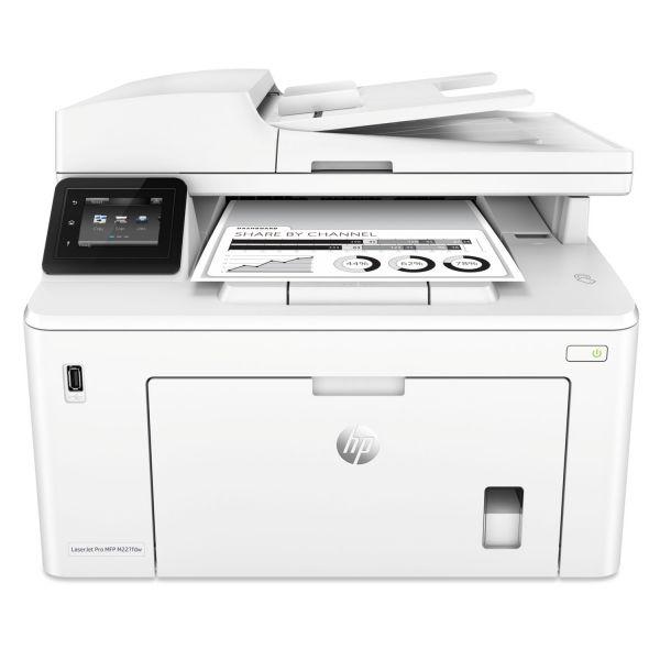 HP LaserJet Pro MFP M227fdw Printer, Copy; Fax; Print; Scan