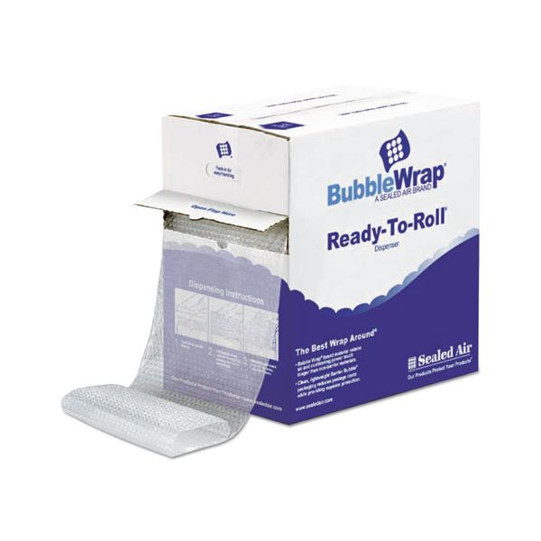 "Sealed Air Bubble Wrap® Cushioning Material in Dispenser Box, 3/16"" Thick, 12"" x 175 ft."