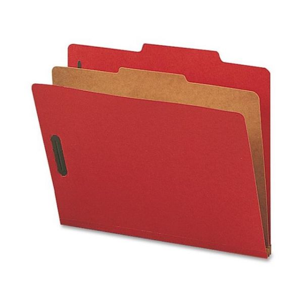 Nature Saver Bright Red Classification Folders