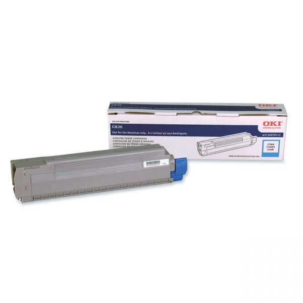 Oki 44059111 Cyan Toner Cartridge