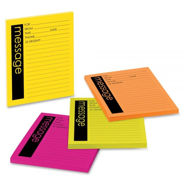 Post-it Neon Important Message Pads