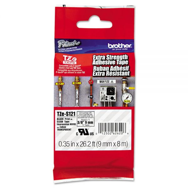 Brother P-Touch TZe Extra Strength Label Tape Cartridge