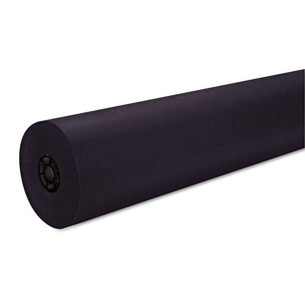 "Pacon Decorol Flame Retardant Art Rolls, 40 lb, 36"" x 1000 ft, Black"