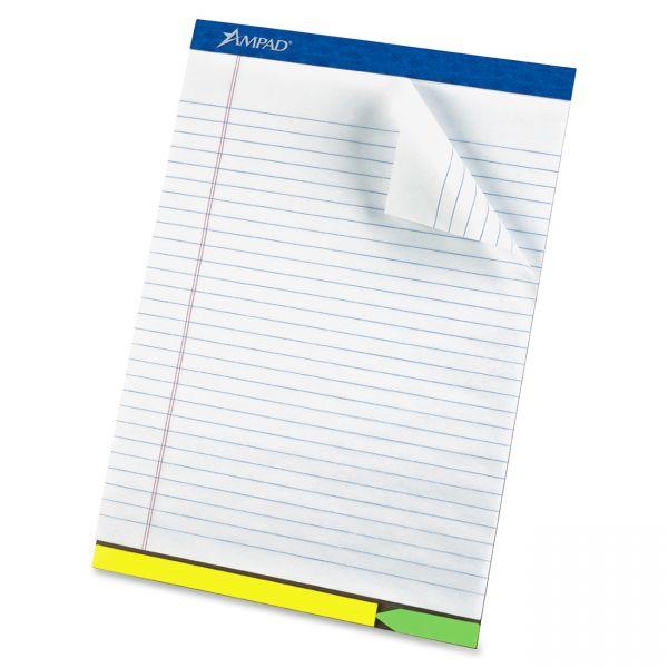 Ampad EZ Flag Letter-Size Legal Pad