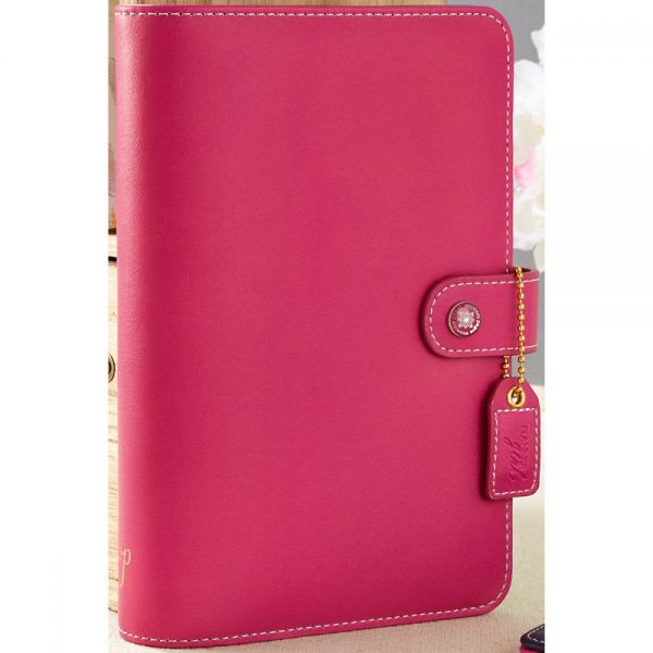 "Color Crush Faux Leather Personal Planner Kit 5.25""X8"""