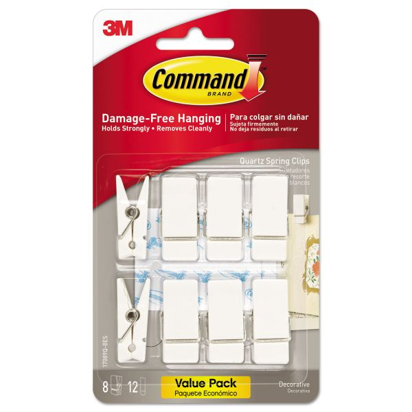 Command Quartz Spring Hooks
