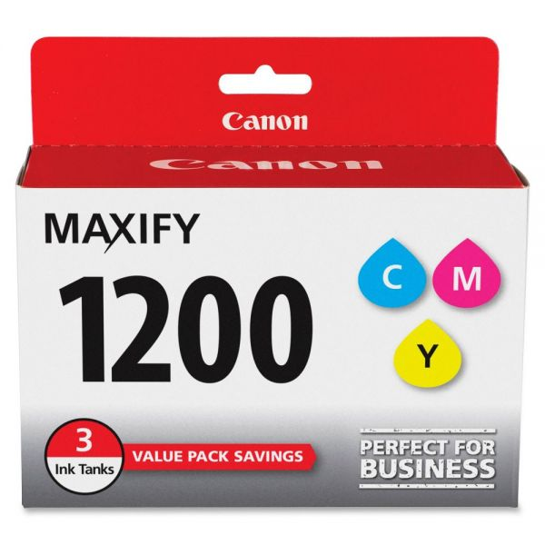 Canon PGI-1200 CMY Ink Cartridges