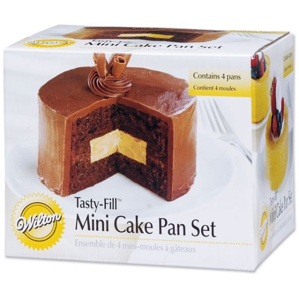 Tasty-Fill Mini Cake Pan Set