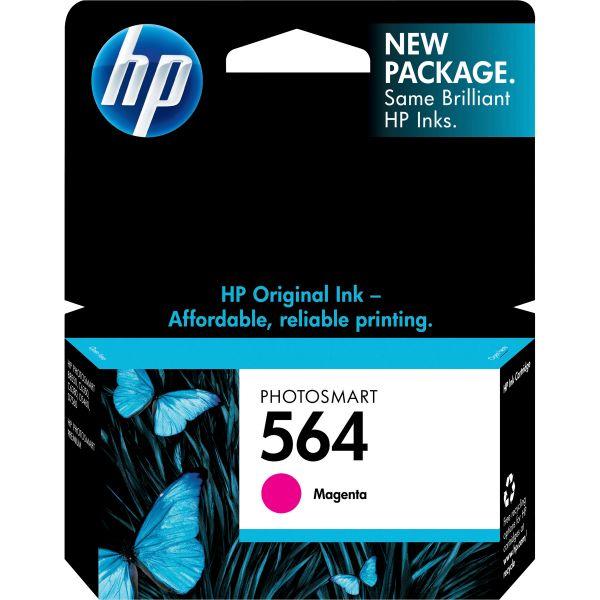 HP 564 Magenta Ink Cartridge (CB319WN)