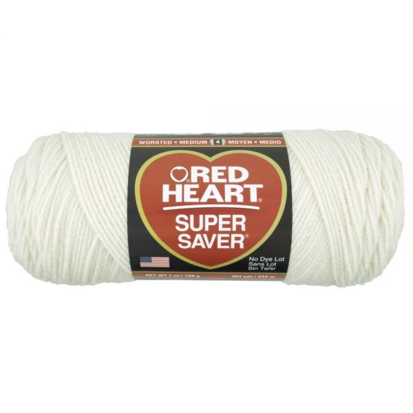 Red Heart Super Saver Yarn - Aran