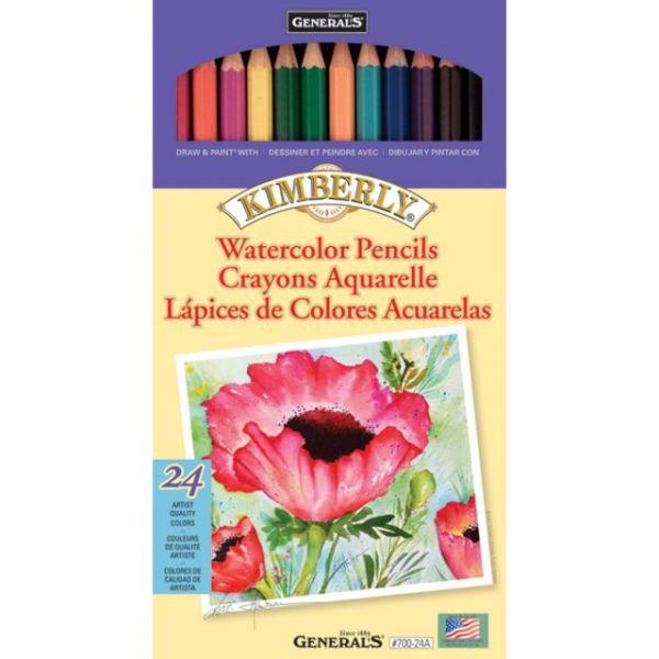 Kimberly Watercolor Pencils 24/Pkg
