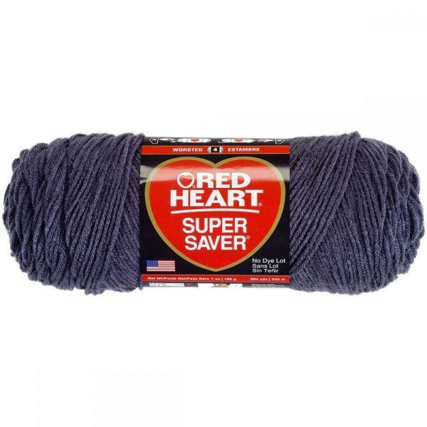 Red Heart Super Saver Yarn - Charcoal