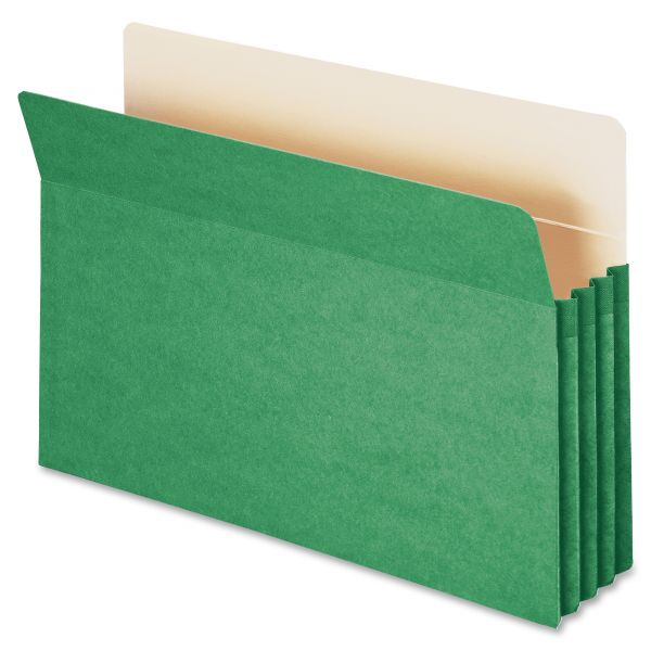 Smead 74226 Green Colored File Pocket