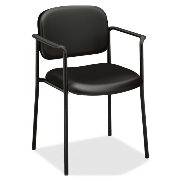 basyx by Hon HVL616 Series Stacking Guest Chair with Arms