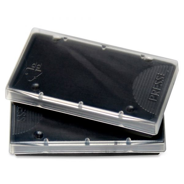 Black replacement ink pad for 2000 plus economy self-inking dater