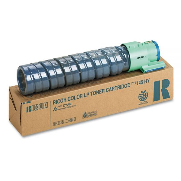 Ricoh 888311 Cyan High Yield Toner Cartridge