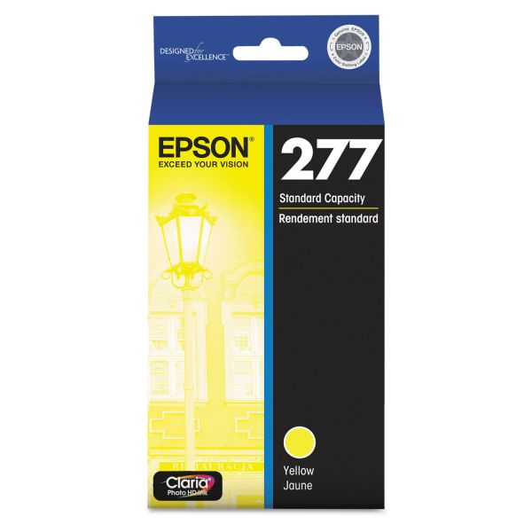 Epson T277420 (277) Claria Ink, Yellow