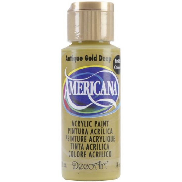 Deco Art Antique Gold Deep Americana Acrylic Paint