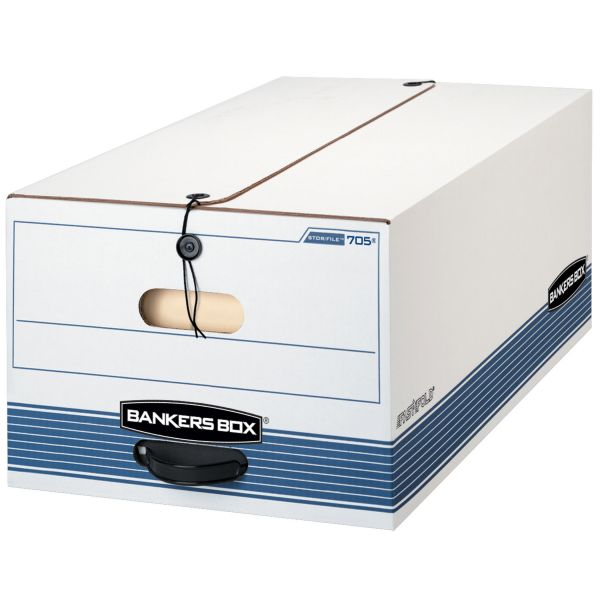 Bankers Box Stor/File Medium-Duty String & Button Storage Boxes