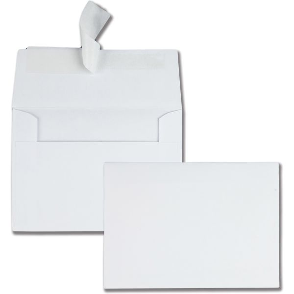 Quality Park White Invitation Envelopes