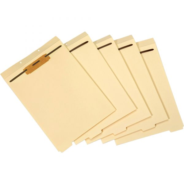 Globe-Weis 1/5 Cut Bottom Tab Folder Divder with Fastener