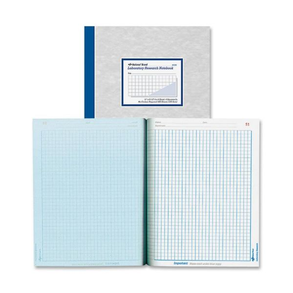 Rediform Laboratory Research Notebooks - Letter
