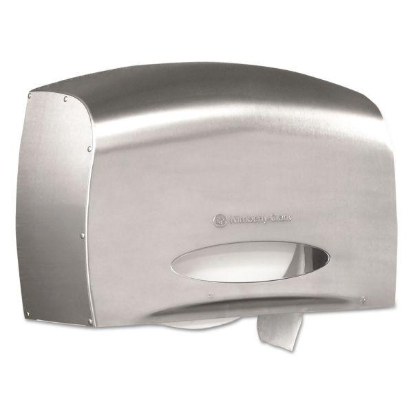 Kimberly-Clark Professional Coreless JRT Jr. EZ Load Toilet Paper Dispenser