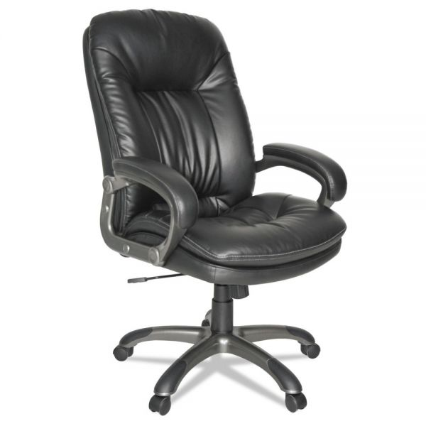 OIF Executive High-Back Swivel/Tilt Leather Office Chair